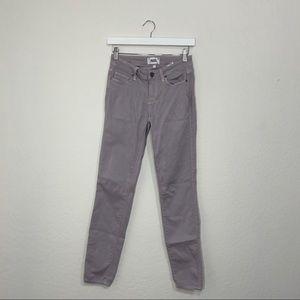 Paige Lavender Skinny Jeans